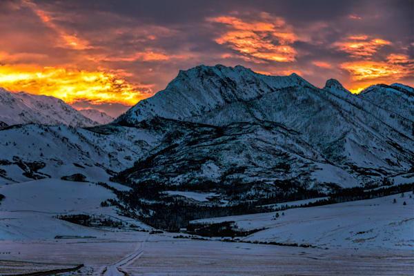 Wedge Winter Sunrise Original Photography Art | Monty Orr Photography