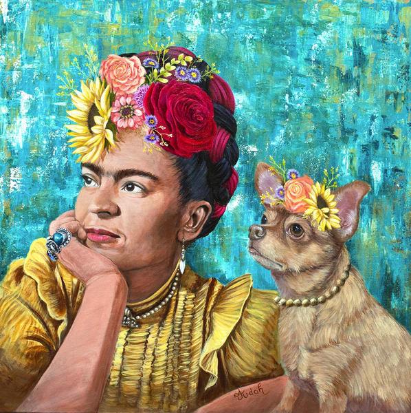 Frida And Dani Art | alanajudahart