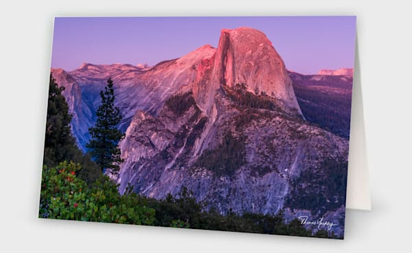Half Dome After Sunset Photography Art | Thomas Yackley Fine Art Photography