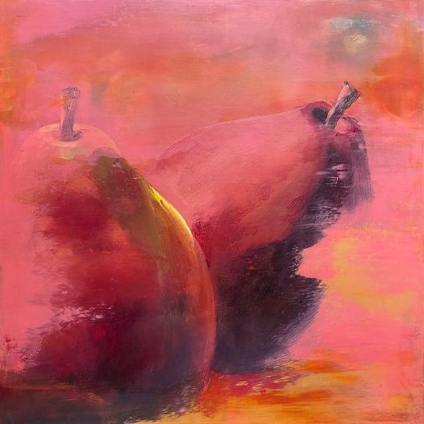 Red Anjou Pears Art | L3 Art Decor