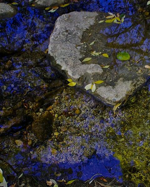 bluesky, reflection, streambed, nature, outdoor, photographicprint, jackierobbinsstudio, buyartonline