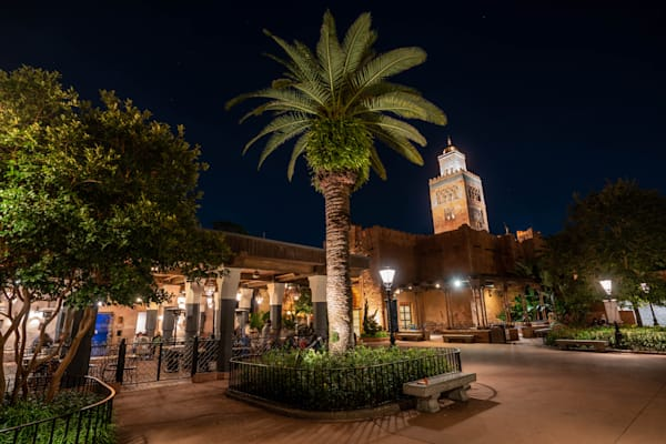 Morocco Nights At Epcot Photography Art | William Drew Photography