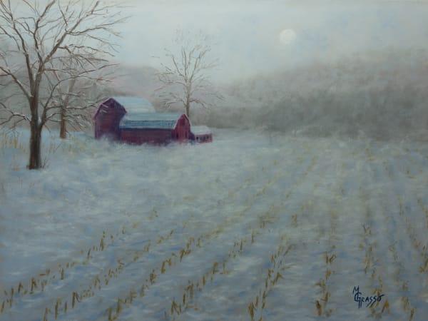 Late Snowy Blow Art | Mark Grasso Fine Art