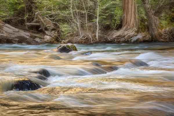 Merced River Spring Runoff Photography Art | Charlotte Gibb Photography