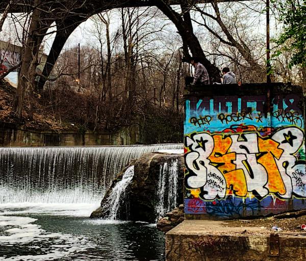 Graffiti Wall Art   Michael Bruley Studio