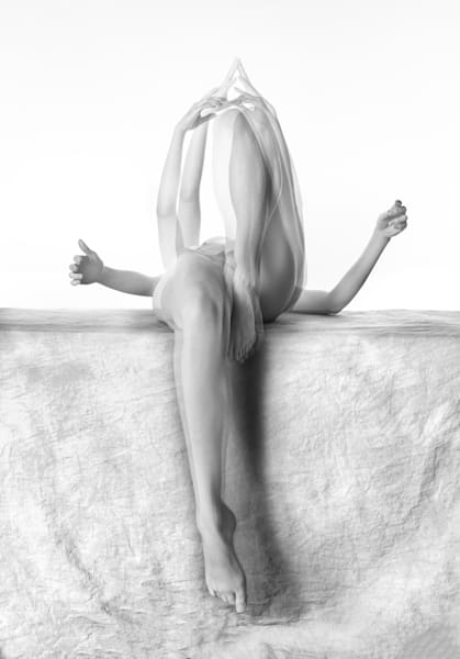 Black and White Nude No. 15