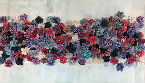 Mixed Bed   Abstract Art | Lauren Naomi Fine Art