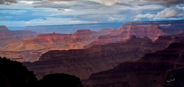 Grand Canyon Ridges by Terry Rosiak