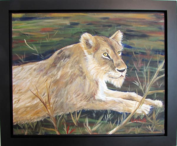 Queen Of The Jungle Art | Linda Sacketti