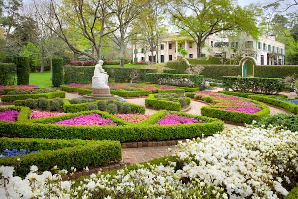 Clio Garden, Bayou Bend Gardens Photography Art   Rick Gardner Photography