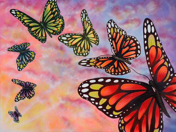 butterfly, butterflies, monarch-butterfly, chakras, alignment