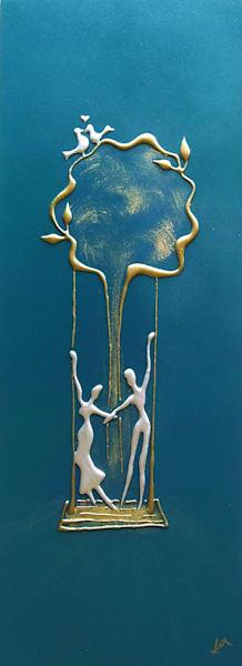 Tree Swing Art | Alex Art Style