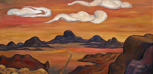 Into The Outback  Original Oil Art | janakastagnaro