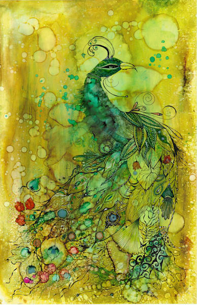 Not Just Any Peacock Art | Art With Judy Ann