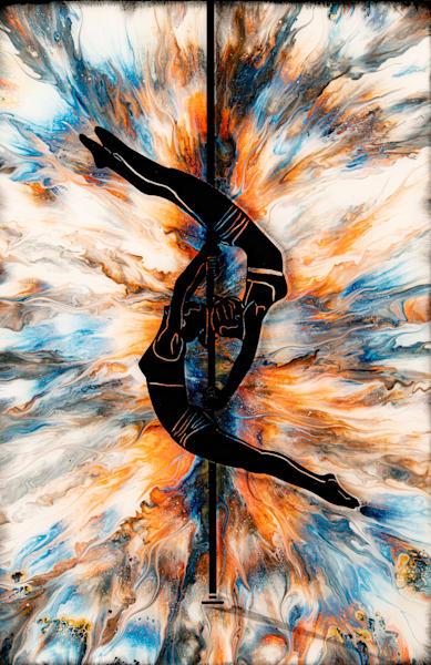 Aerial Doubles Art | Breathe Art Paintings
