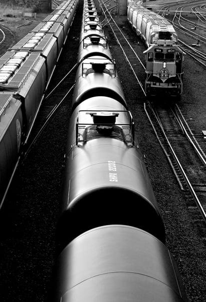 Northeast Rail Yard Photography Art | Jim Grossman Photography