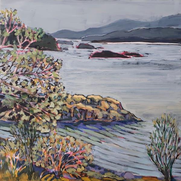 Island: Winter View Art | kathleenschmalzartist