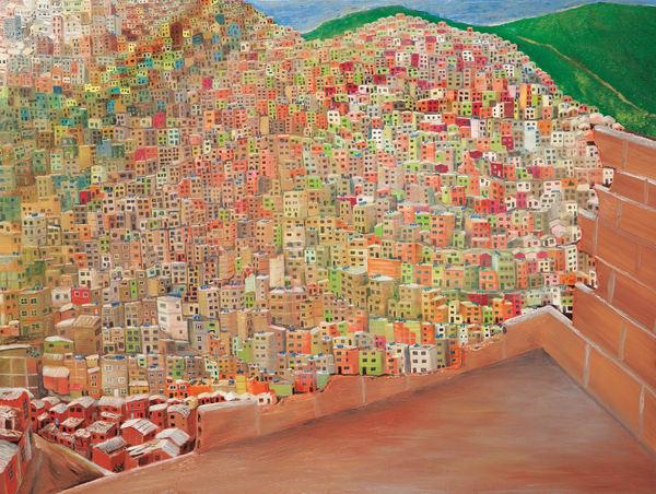 "Unplanned Beauty, PRINT (original Oil on Canvas 36""x48"" )"
