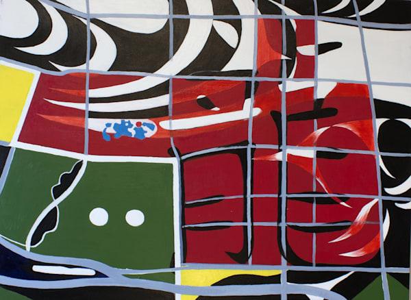DragonTalk, Acrilyc on Canvas 30x40
