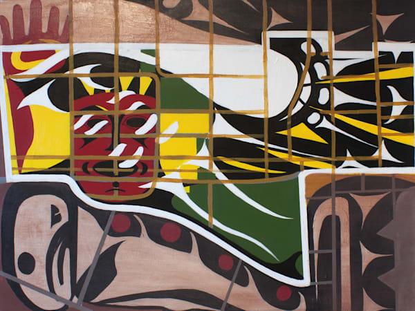 "Kumkumaly, PRINT (Original Acrylic on canvas 30""x40"")"