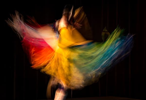 Colour in Motion No. 1