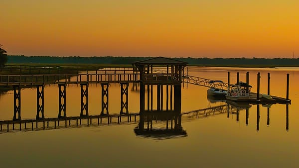 Day's End May River Photography Art | Jim Grossman Photography
