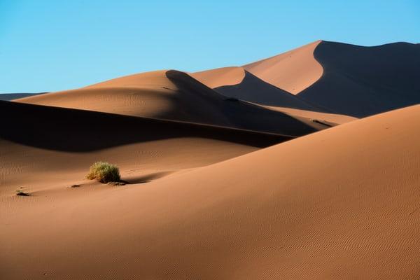 Amazing Namibian desert photo.