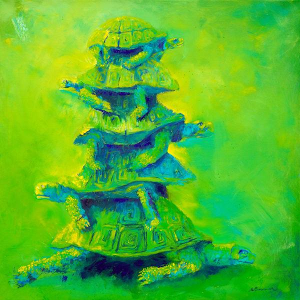 Turtles Green Art | S Pominville
