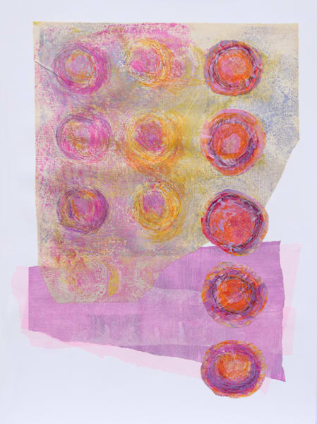 Day of Many Suns - Original Abstract Painting | Cynthia Coldren Fine Art