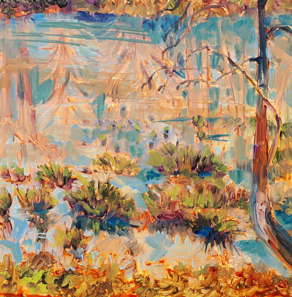 Seagirt Ponds Park Reflections R Art | kathleenschmalzartist