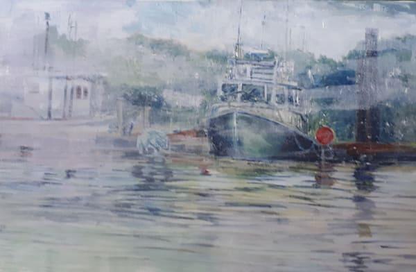 Fishing Boat In The Fog R Art | kathleenschmalzartist