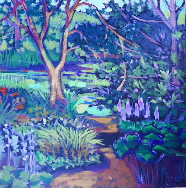 Japanese Garden R Art | kathleenschmalzartist