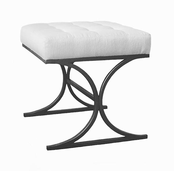 Hepburn Bench | Susan Hopkins Interior Design | Onyx + Ivory
