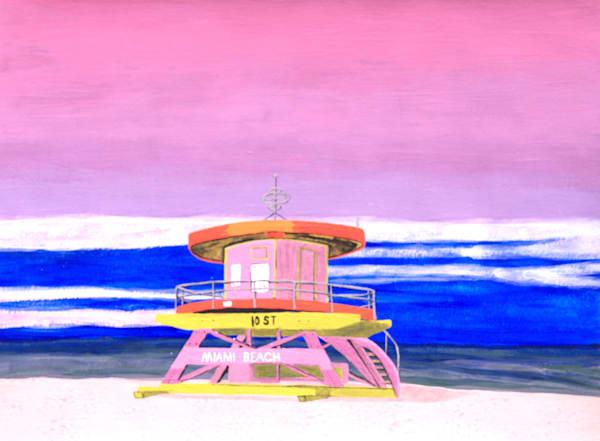 Miami Beach 10th Street Tower Photography Art | ArtbyAEllis