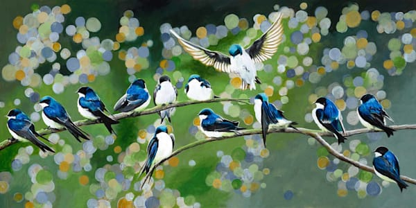 Bouquet of Swallows