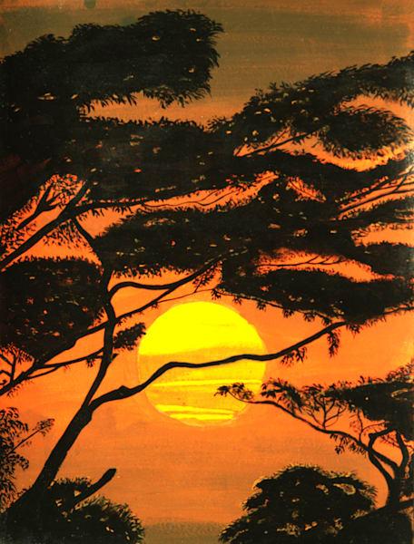 Sunset In Malaysia Photography Art   ArtbyAEllis