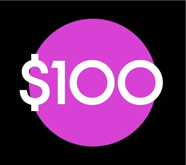$100 Gift Card | RPAC Gallery