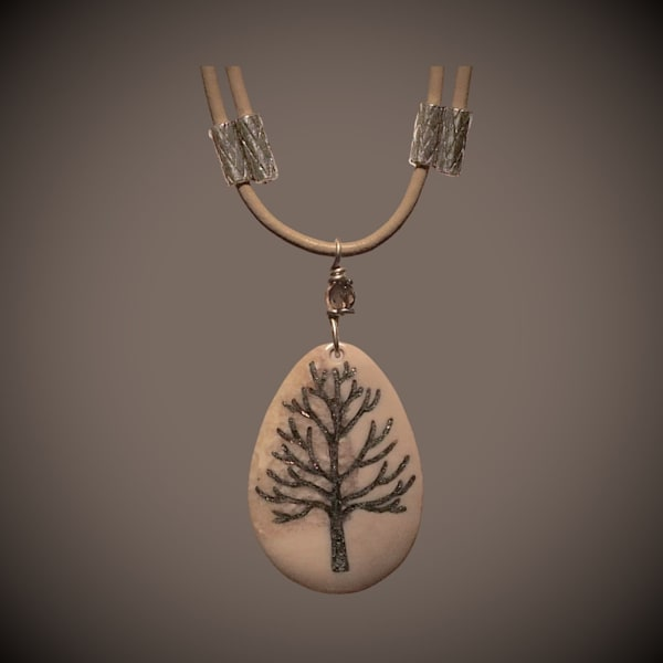 Trees and Symbols Pendants