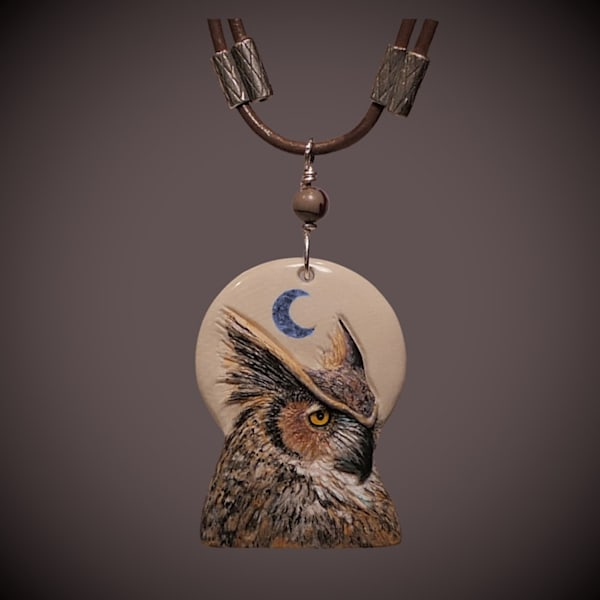 Great Horned Owl 2   Talas Art