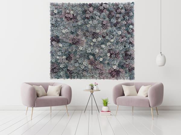 Garden Bonanza   Fc Purpurite And Apatite Art | Lauren Naomi Fine Art