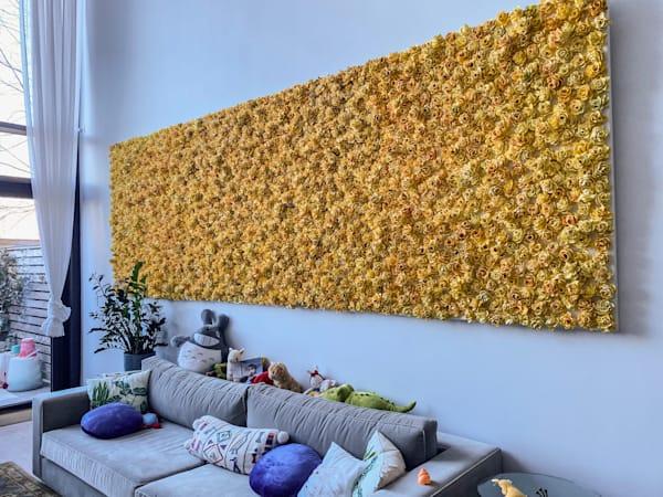 Garden Bonanza   Fc Jaune  Art | Lauren Naomi Fine Art