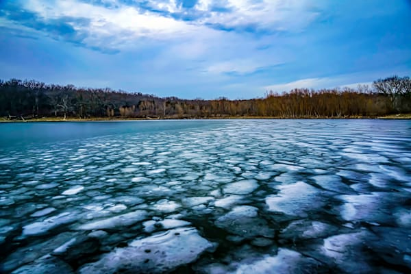 Clouds And Ice | Silver Spirit Photography