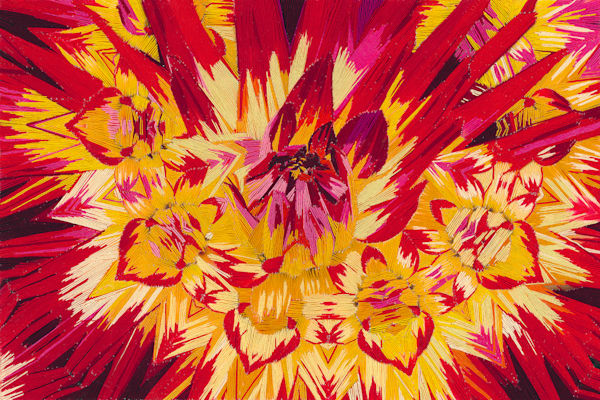 Blast Of Color 12 X18 Final Web Art | David Poyant Paintings