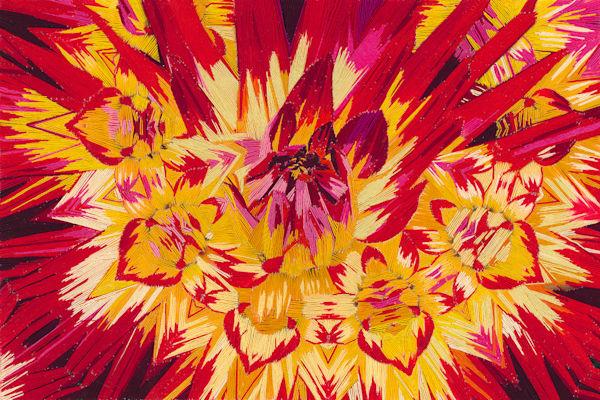 Blast Of Color 12 X18 Final Web Art   David Poyant Paintings