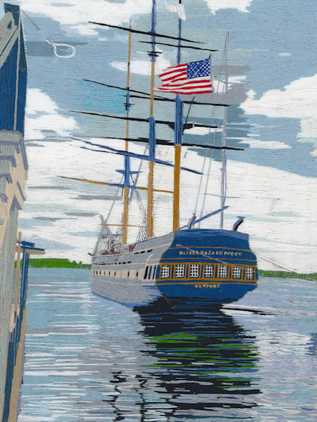 Oliver Hazard Perry Web Art   David Poyant Paintings