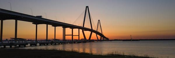 LIMITED EDITION: Charleston, SC Bridge Print