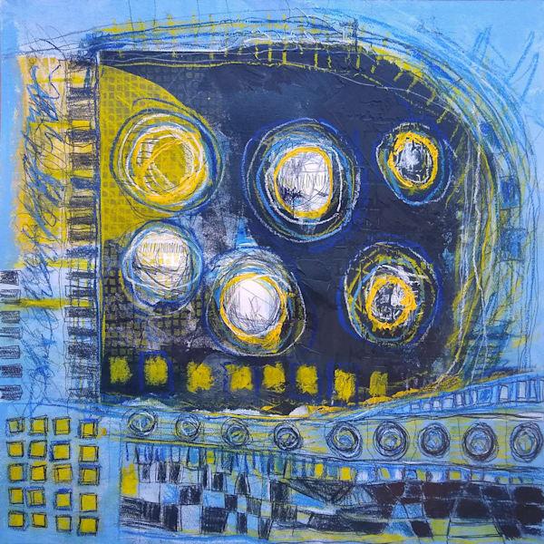 Diving Deeper - Original Abstract Painting | Cynthia Coldren Fine Art