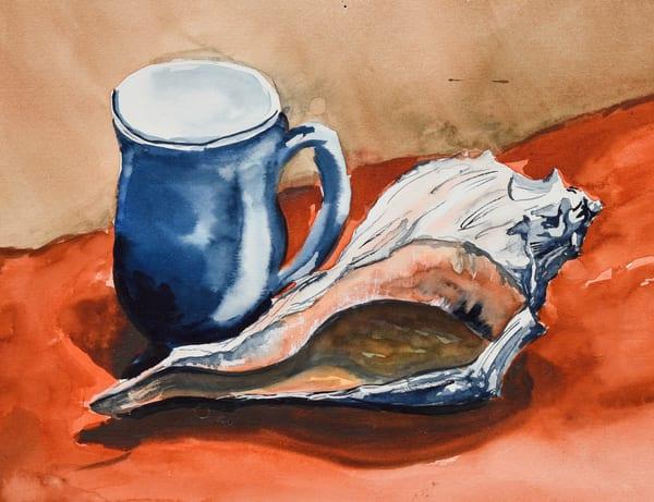 Still Life Shell  Art   Drivdahl Creations