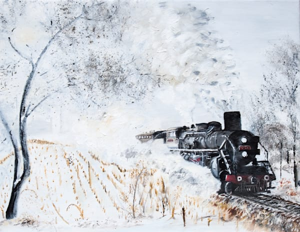 Steam And Snow Art   Drivdahl Creations