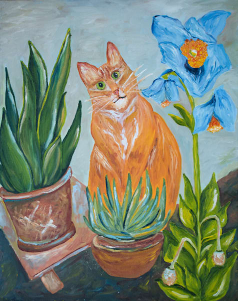 Cheddar And Poppies Art   Drivdahl Creations